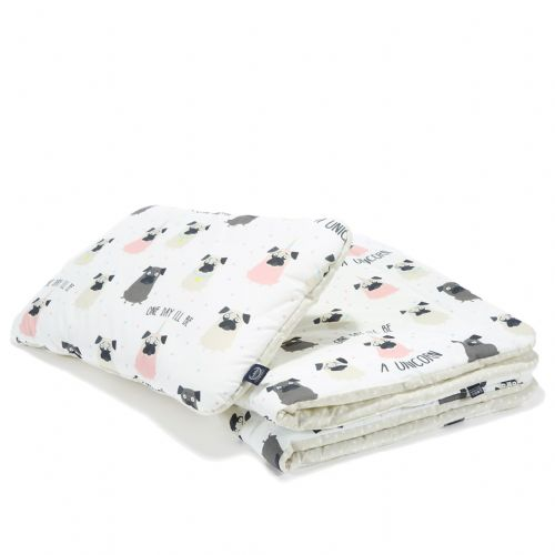 "La Millou DOGGY UNICORN BEDDING WITH FILLING TODDLER ""M"""